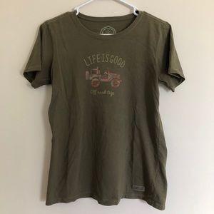 Life is Good Wrangler Shirt